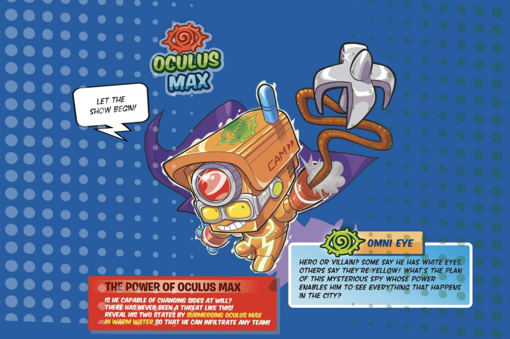 oculus max ultrararo superthings secret spies